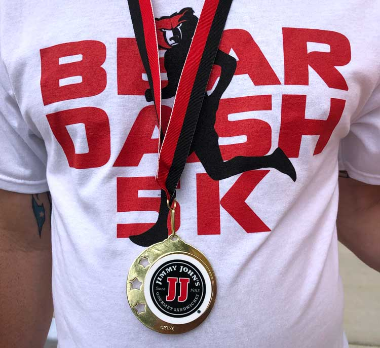 Bear Dash Medal